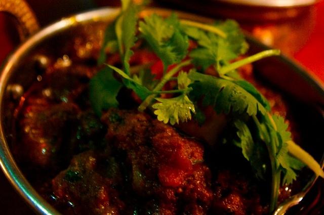 Indian curry in Fiji