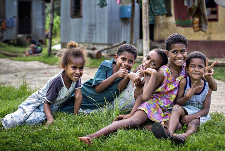 Local Fijian Children