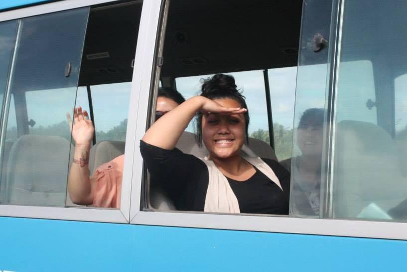 Girls in FeeJee Ex Bus