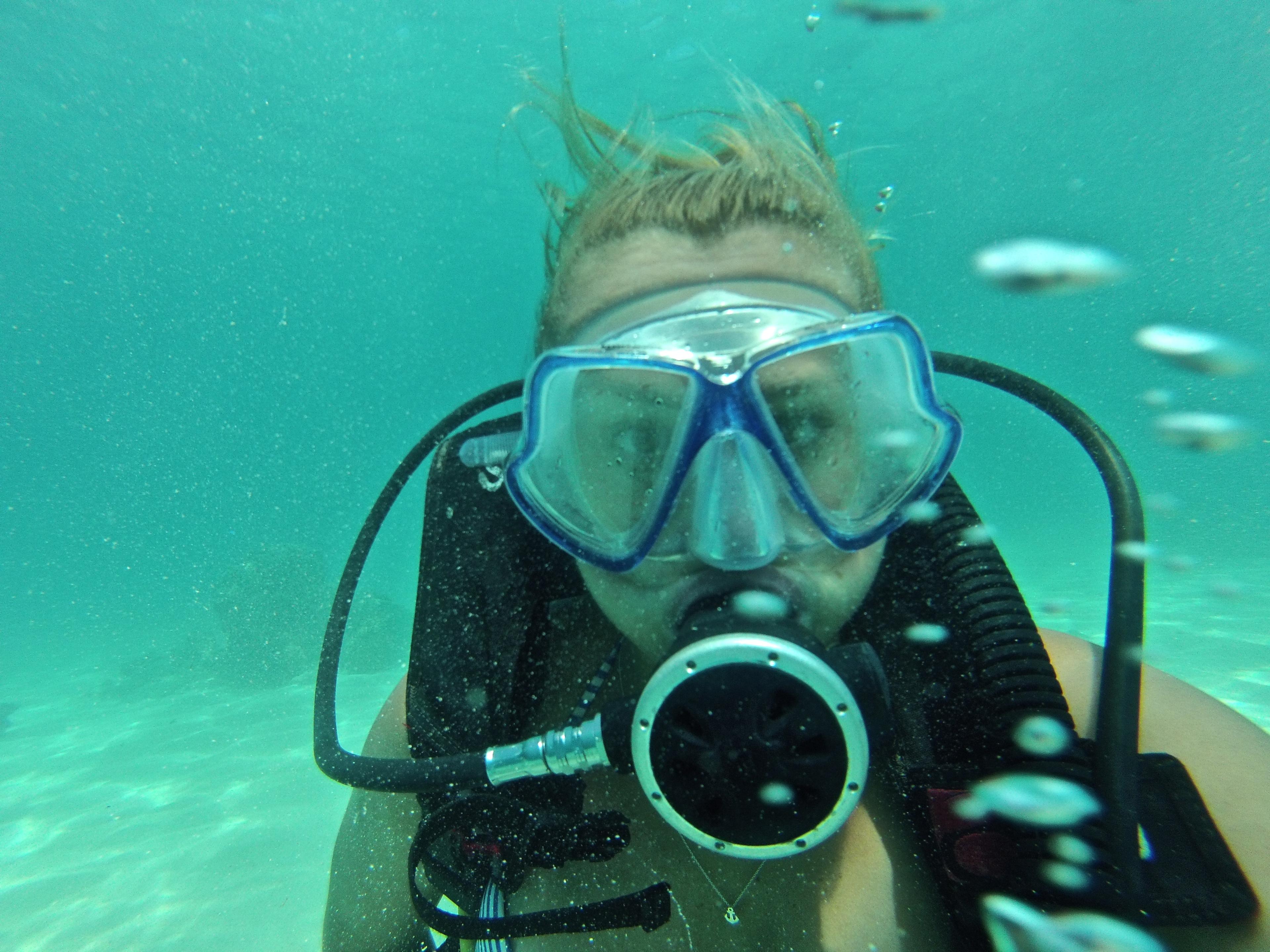 Mantaray Introductory Diving